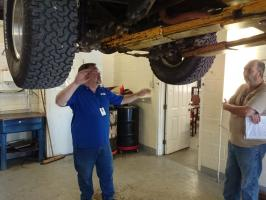 4-wheel drive vehicle training