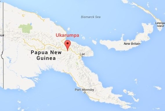 Ukarumpa map